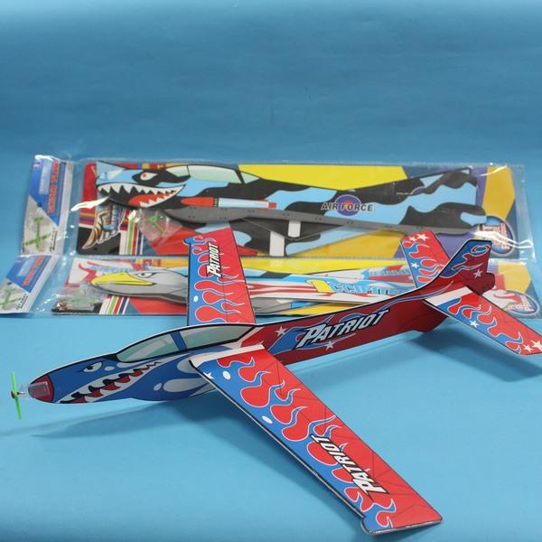 45cm特大滑翔機 高空滑翔機 保麗龍手擲滑翔機/一支入{促50}童玩飛機~首510-21