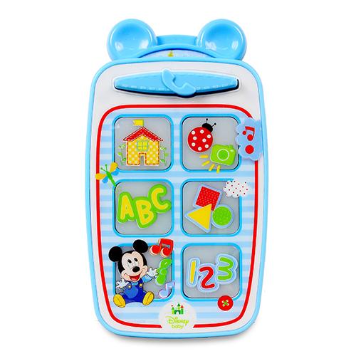 迪士尼嬰兒~米奇智慧手機/ MICKEY SMART PHONE/ 訓練/ 學習/ 迪士尼/ 伯寶行