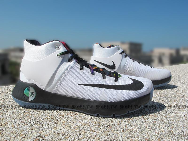 Shoestw【844573-194】NIKE KD TREY 5 IV EP 籃球鞋 白黑色 彩帶 XDR