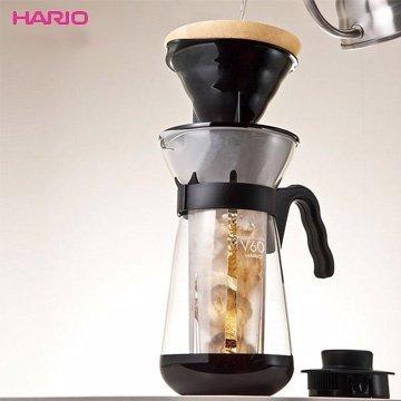 【HARIO】VIC-02B 冰咖啡沖泡壺 700ml 咖啡壺 玻璃壺 冰水壺 熱水壺 耐熱 波型把手 濾泡式咖啡