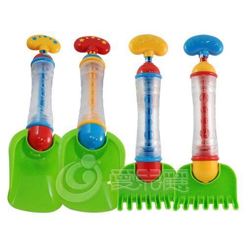 ★衛立兒生活館★ELC 挖沙鏟/噴水槍兩用玩具 水槍挖沙玩具-1入(顏色隨機出貨)