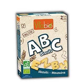 ★衛立兒生活館★法國Vilabio ABC字母全麥餅乾150g