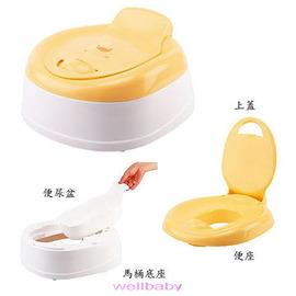 黃色小鴨造型多功能豪華便器