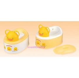 黃色小鴨兩段式功能造型幼兒便器