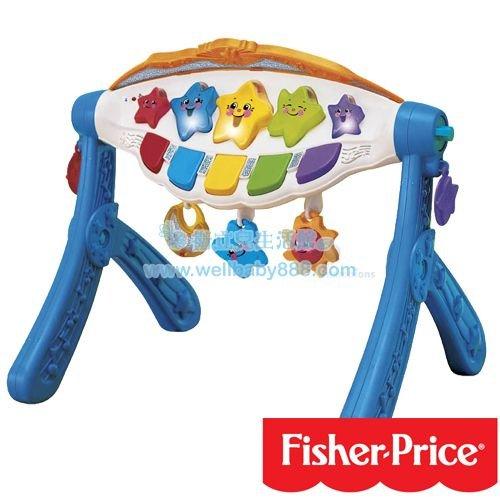 費雪牌 Fisher-Price古典樂章聲光健身器