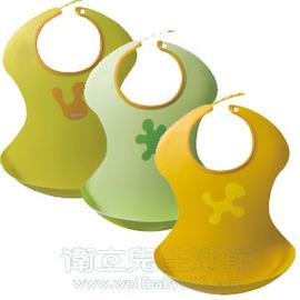 ★衛立兒生活館★【 Aprica】輕便型餐用圍兜兜/淺黃色/黃色/綠色