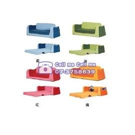 ★衛立兒生活館★Kids Lifestyle 生活美學PK寶貝專屬沙發床-(藍/綠/橘/紅)