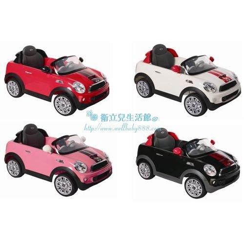 ★衛立兒生活館★2014年新版Mini CooperS 遙控電動車W456EQ(黑/白/紅/粉)