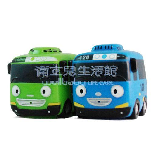 ★衛立兒生活館★韓國巴士造型洗澡玩具二件組(隨機出貨)