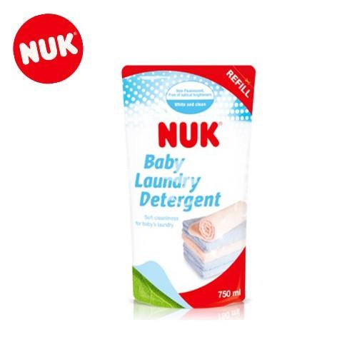 ★衛立兒生活館★NUK嬰兒衣物洗衣精補充包750ml-單包NEW