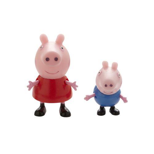 ★衛立兒生活館★【Peppa Pig】粉紅豬小妹2入公仔組(共6款)商品隨機出貨PE04430