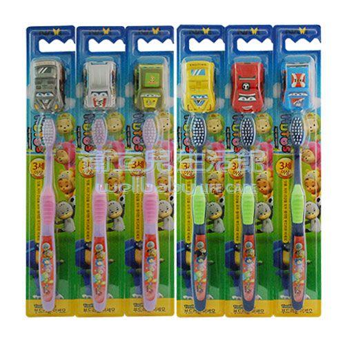 ★衛立兒生活館★韓國NAVI 玩具車+細毛牙刷-3歲以上適用(隨機出貨)