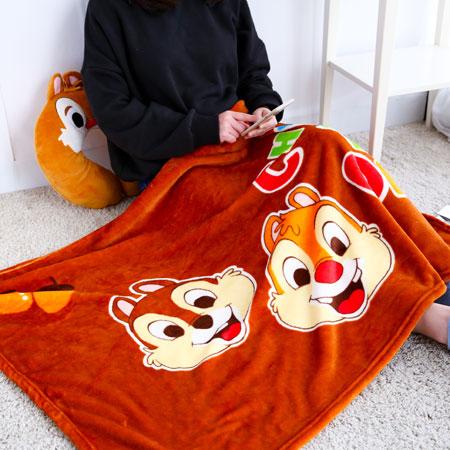 正版奇奇蒂蒂膝上毯 被毯 刷毛毯 毯被 保暖毯 毛毯 嬰兒毯 懶人毯 冷氣毯 毯子【B062446】