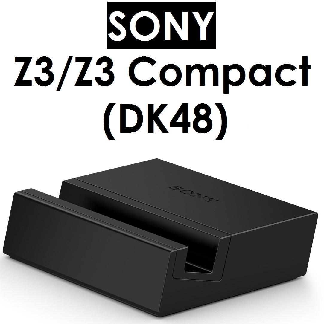 【原廠吊卡盒裝】索尼 SONY DK48 磁性充電底座充 Xperia Z3 和 Z3 Compact 專用