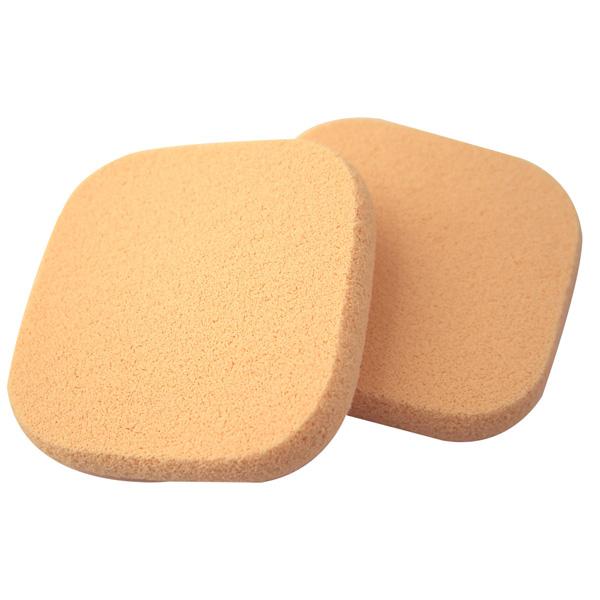 COSMOS A18兩用粉餅海綿 方形(2入) S30175《Belle倍莉小舖》