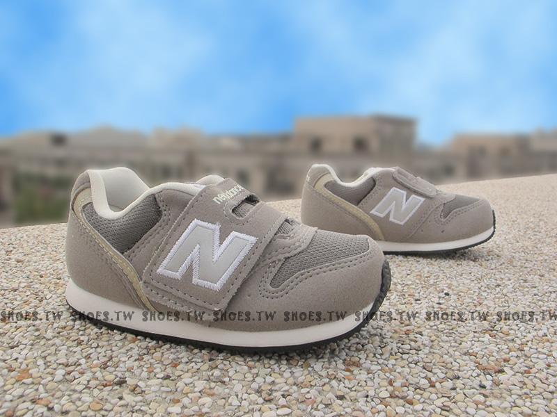 Shoestw【FS996CAI】NEW BALANCE 996 學布鞋 童鞋 運動鞋 小童 灰色