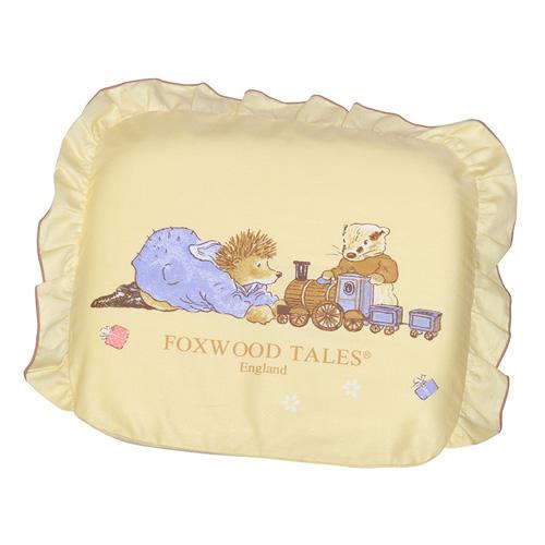 『121婦嬰用品館』狐狸村 太空矽膠嬰兒造型枕 - 黃