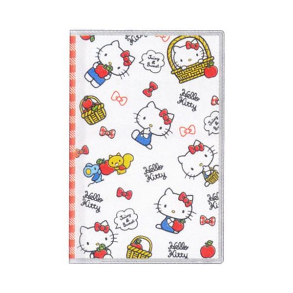 【真愛日本】15091500026 B7 KT蘋果紅格白 2016年曆 日誌 手帳 行事曆 文具用品 KITTY