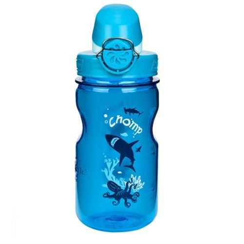 【鄉野情戶外專業】 Nalgene |美國|  OTF 兒童水壺 / 耐熱水瓶 BPA Free 375ml /灰藍_1263-0002