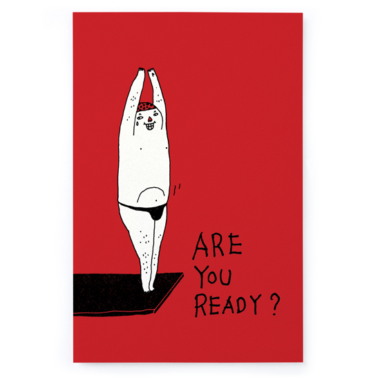 ARE YOU READY ?/明信片