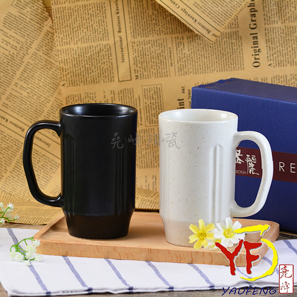 ★堯峰陶瓷★日本美濃燒 進口陶啤酒杯2入組