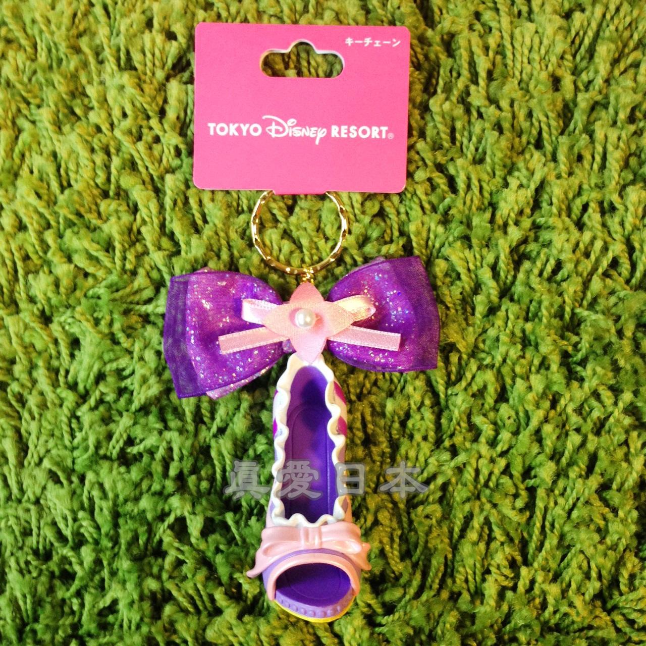 【真愛日本】16041800010樂園限定鎖圈高跟鞋-長髮公主 迪士尼 魔髮奇緣 Tangled  吊飾 飾品 鑰匙圈 正品 限量 預購