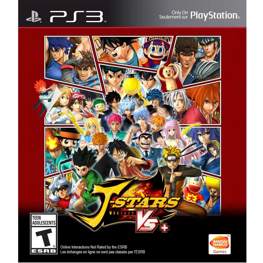 PS3 J 群星 勝利對決+ 英日文美版 J-Stars Victory VS +