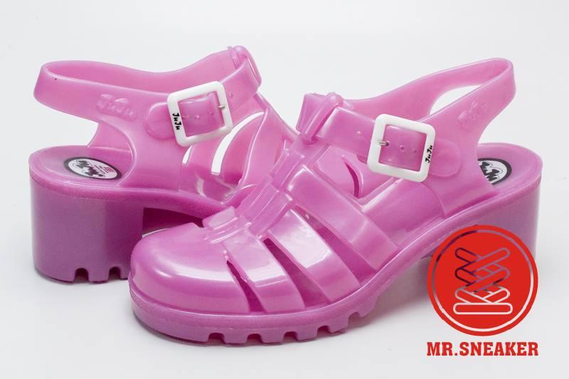 ☆Mr.Sneaker☆ JUJU Babe 英國 果凍鞋 雨鞋 膠鞋 孫瑩瑩 Elle Fanning 大饅大力 蜜桃粉