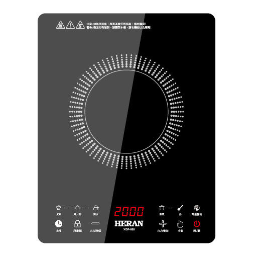 ★杰米家電☆禾聯 HERAN 頂級黑晶電陶爐 XGR-688