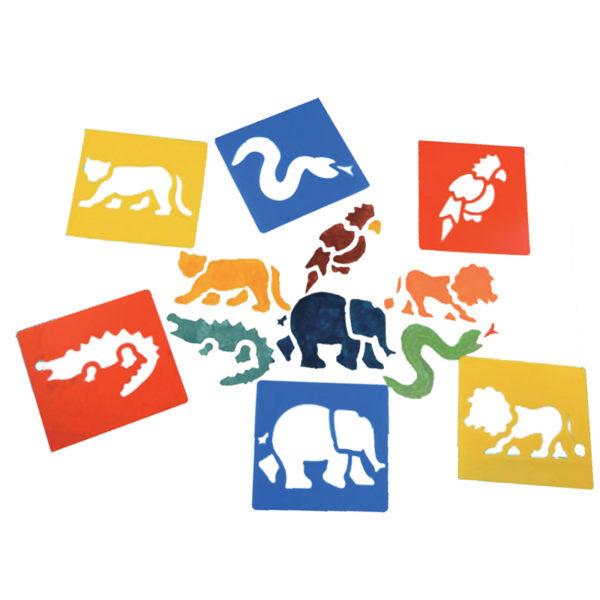 【華森葳兒童教玩具】美育教具系列-模型畫板-叢林 L1-AP/042/WSJ