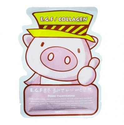 韓國NEXT BEAU豬豬面膜-E.G.F K713