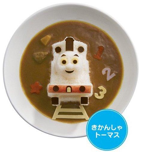 =優生活=日本湯瑪士飯糰模具 壽司便當模 火車造型咖啡飯模型親子DIY 野餐趣