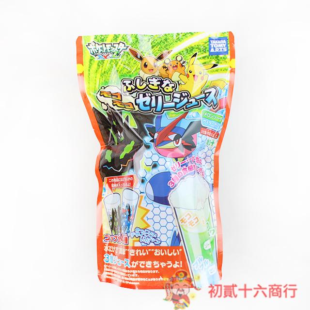 【0216零食會社】寶可夢不思議果凍飲(哈密瓜+汽水味)12g