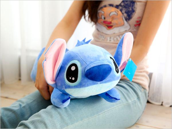正版史迪奇趴姿娃娃 布偶 抱枕 枕頭 午安枕 午睡枕 星際寶貝 Stitch 迪士尼 【B060553】