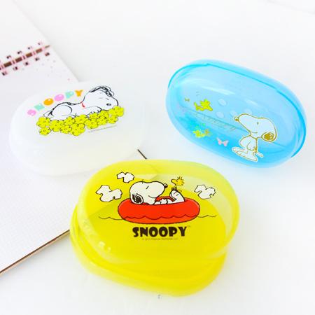 正版史努比肥皂盒 台灣製 雙層瀝水 濾水 香皂盒 香皂盤 肥皂盤 Snoopy 史奴比【N200673】