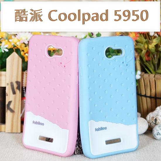 【熱銷品】Coolpad 酷派 5950T/亞太 A+ World G5 冰淇淋軟套 /卡通/手機套/保護殼/手機殼/軟殼/背蓋