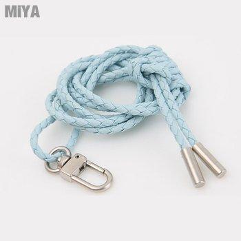 MiYA Wit 正韓國真皮牛皮手工頸編織證件繩掛繩配飾 多色現貨