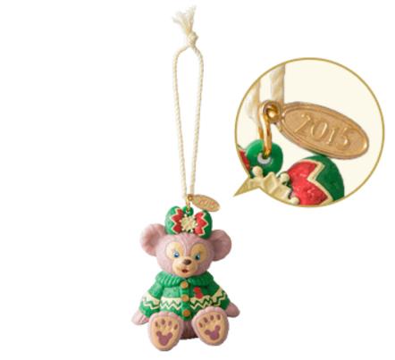 【真愛日本】 15111700017 聖誕節限定15-公仔雪莉玫 Duffy &ShellieMay東京迪士尼樂園 公仔
