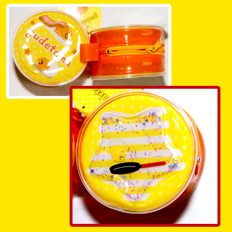 蛋黃哥 液體流動 零錢包 日本正版品