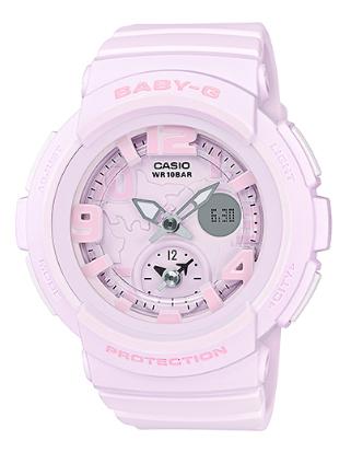 【錶飾精品】現貨卡西歐CASIO Baby-G海灘旅行系列BGA-190BC-4B-粉紅 霧面蠟筆質感 全新原廠正品