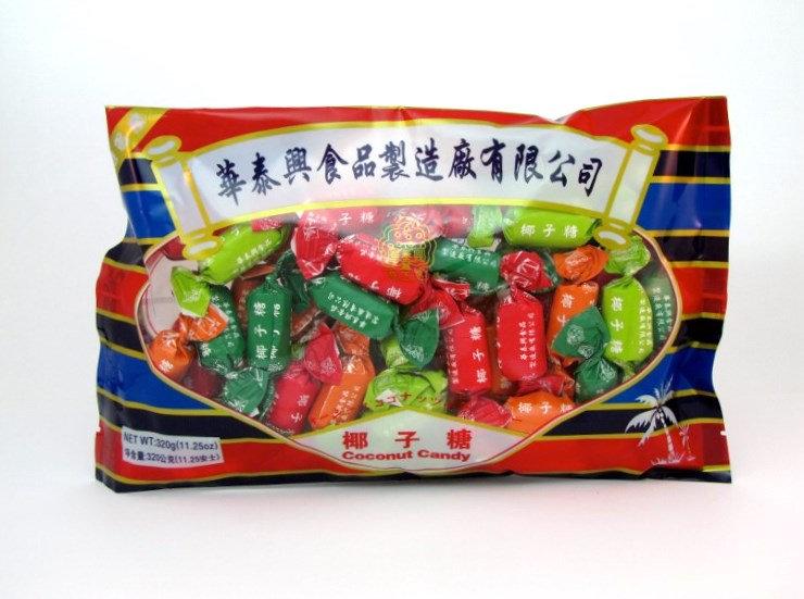 華泰興椰子糖-原味320g