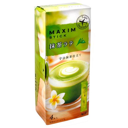 Maxim三合一(抹茶拿鐵) 4本入 (60g)