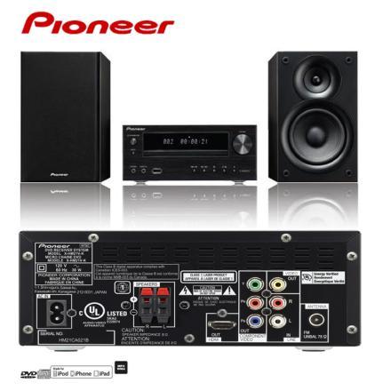 X-HM21V-K Pioneer先鋒 iPhone/DVD/CD床頭音響組 零利率 熱線:07-7428010