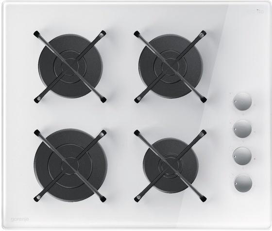gorenje 歌蘭尼 GHS64-ORA-W  嵌入式 四口 玻璃陶瓷瓦斯爐 (220V電壓)【零利率】※熱線07-7428010