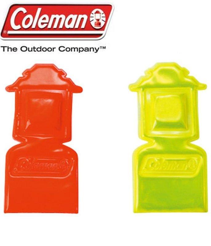 【露營趣】中和 美國 Coleman 磁性掛勾 燈勾(2個/組) CM-3165