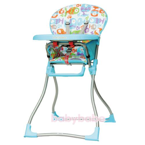 『121婦嬰用品館』同富 兒童高腳餐椅 - 藍