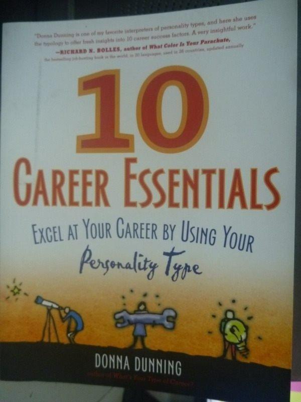 【書寶二手書T5/財經企管_ZCG】10 Career Essentials: Excel