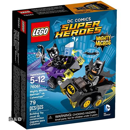 樂高積木 LEGO《 LT76061 》SUPER HEROES 超級英雄系列 - Mighty Micros: Batman™ vs. Catwoman