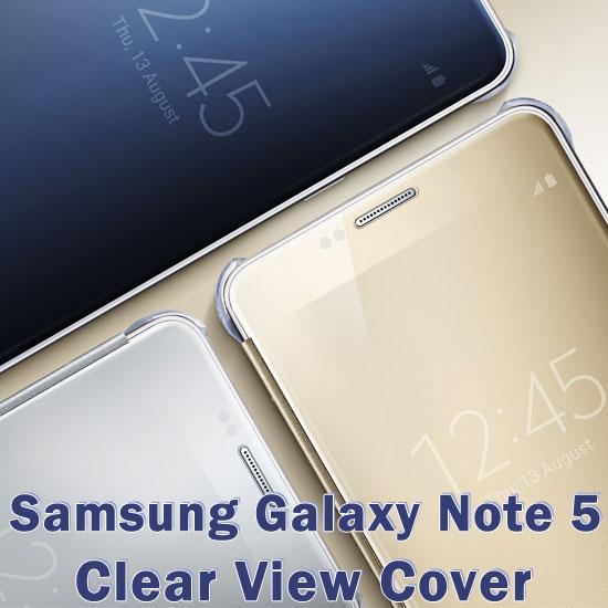 【全透視感應皮套】三星 Samsung Galaxy Note 5 N9208 N920 原廠皮套/智能保護套/側掀電池背蓋殼
