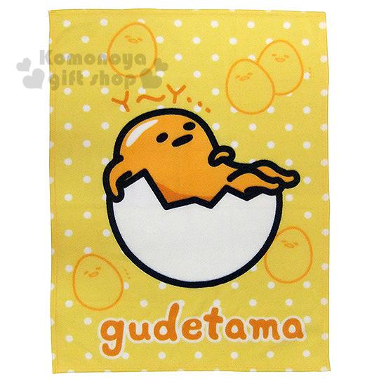 〔小禮堂〕蛋黃哥 刷毛毯《黃.蛋殼裡.點點.75x100cm》室內車內兼用